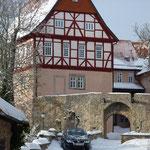 Burg Bodenstein Eingang mit Zugbrücke