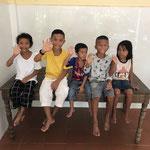 5 des 7 enfants que vous soutenez