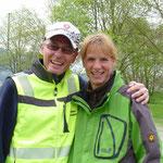 Die beiden Seminarleiter Mantrailing Barbara Eggimann und Peter Keller