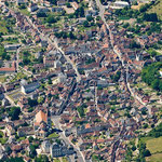 Vue aérienne de Preuilly-sur-Claise