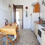 Cucina lato stanze