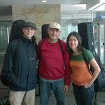 Con Paulo Bellinati y Cristina Azuma. Córdoba.