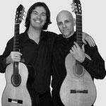 Con Rafael Verdoia. Carapachay.