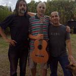 Con Víctor Rodríguez y Diego Contestí. Andino. 2012.