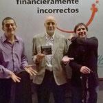 Con Diego Castro y Mario de Goycoechea. Córdoba.