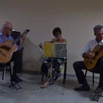 Presentación del libro Jardines. Con Raúl Feroglio, María Amalia Maritano y Daniel Mariatti. Las Parejas. 2016