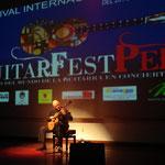 Guitarfest Lima, Perú. 2010.