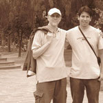Con Luis Candia, Jujuy. 2008