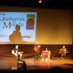 Con Daniel Mariatti y Jorge Cardoso. Venado Tuerto.