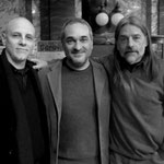 Con Víctor Rodríguez y Marcelo Petetta. ECU, Rosario.