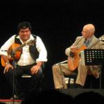Con Ernesto Hermoza. Festival Cuerdas al aire. Lima, Perú. 2014