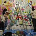 2012 copyright:Livepainting /neutron 2012 photo:HIROSE Ikuko