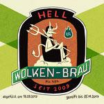 Bieretikett - Teufel - Kunde: Wolkenbräu