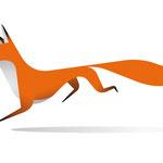 Logo-Design Fuchs - Kunde: We change that