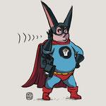 Character-Design - Thema: Superhelden mit Behinderung (Taub) - Kunde: Aktion Mensch