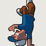 Maskottchen-Illustration für Realschule - Kunde: St. Emmeran Realschule Aschheim