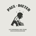 Logo-Design für kleine Letterpress Druckerei - Kunde: Paul Dieter