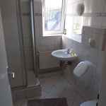 Badezimmer 1 mit Dusche / WC
