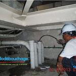 Plombier copropriété debouchage colonne d'immeuble