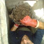 Curage manuel plombier
