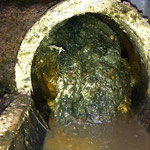 Bouchon canalisation plombier Nimes