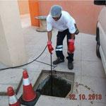 Decapage regard bouché plombier Toulon