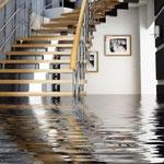 Inondation maison suite a une canalisation obstruée