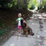 Rossi mit Kinderfreundin
