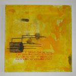 Nr. 65 Gelbe Serie, 2014, 100x100 (verkauft)