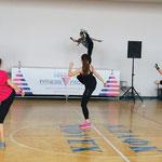 съемка репортажа в Харькове - фестиваль фитнес - культуры