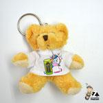 Schlüsselanhänger Teddy mit Tshirt