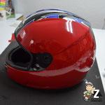 Helmfolierung Motorradhelm MZ