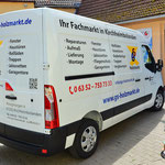 Transporter Beschriftung GS Holzmarkt Kirchheimbolanden