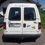 KFZ Beschriftung Malerbetrieb WaBo