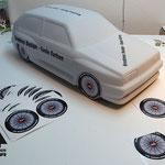 Rad Aufkleber Car Shapes PK-Design