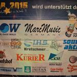 PVC Sponsorenbanner Star 2015
