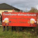 PVC Banner Einselthumer Weihnachtsmarkt