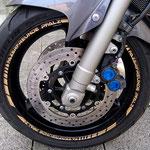Felgenrandaufkleber Yamaha Fazer FZS 1000