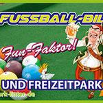PVC Banner Sportpark Linter Fussball Billard