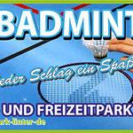 PVC Banner Sportpark Linter Badminton