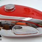 Folierung Tank Motorrad Horex