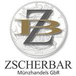 Logodesign ZscherBar Münzhandel