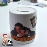 Keramik Spardose Kaffeekasse