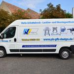 KFZ Design PK Design mit Digitaldruck und Lochfolie