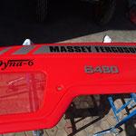 Logo Aufkleber Massey Ferguson Traktor Beschriftung