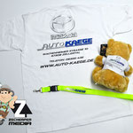 Teddy, Schlüsselband, Tshirt Mazda Autohaus Käge