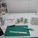 Vorbereitung Tassendruck