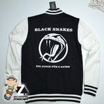 Collage Jacke Black Snakes