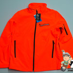 Softshelljacke neonorange Chainsaw Betec