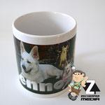 Kaffeetasse Hunde Collage Lennox